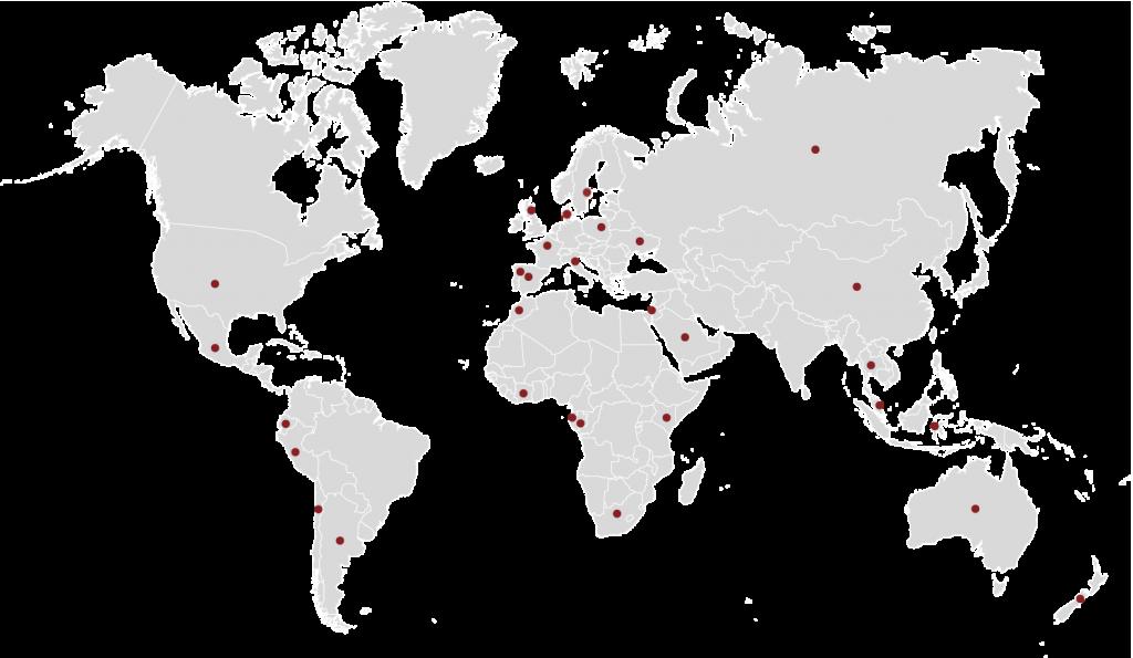 Mapa países Sugimat